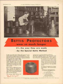 Patterson-Ballagh Corp 1930 Vintage Ad Oil Bettis Protector Wear Long