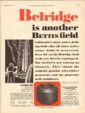 Patterson-Ballagh Corp 1930 Vintage Ad Oil Drill Belridge Bettis Field