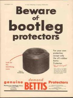 Patterson-Ballagh Corp 1930 Vintage Ad Oil Beware Bootleg Protectors