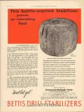 Patterson-Ballagh Corp 1930 Vintage Ad Oil Battle-Scarred Stabilizer