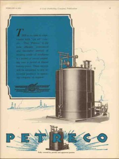 Petroleum Rectifying Company 1930 Vintage Ad Oil No Time To Experiment