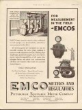 Pittsburgh Equitable Meter Company 1930 Vintage Ad Oil Measurement