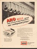 ARO Equipment Corp 1955 Vintage Ad St Mary Square Garage S E Onorato