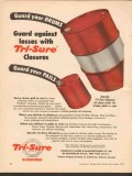 american flange mfg company 1955 guard drums pails closures vintage ad
