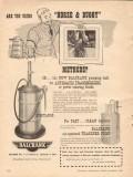 balcrank inc 1955 using horse buggy methods pumping units vintage ad