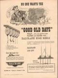 balcrank inc 1955 good old days service station hose reels vintage ad