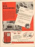bowser inc 1955 j donald messier burlington vt gas station vintage ad