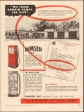 bowser inc 1955 h c charless san angelo tx gasoline station vintage ad