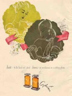 adrian 1946 ruth sigrid grafstrom sinner and saint perfume vintage ad