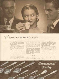 international silver company 1946 see in his eyes sterling vintage ad