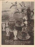 imperial glass corp 1947 cape cod hand crafted pattern vintage ad