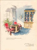 l s ayers company 1947 long-loved patterns bakers pine vintage ad