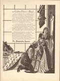 philadelphia inquirer 1946 golden fleeces head mac raboy vintage ad