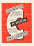 a c horn company 1946 beauty tile colorundum concrete floor vintage ad