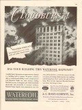 a c horn company 1946 cloudburst waterfoil protect coating vintage ad