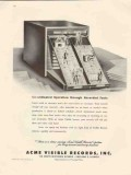 acme visible records inc 1946 coordinated operation facts vintage ad