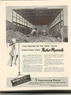 allied structural steel company 1946 northern pacific rail vintage ad