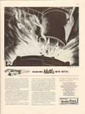 american brake shoe company 1946 cooking mettle into metal vintage ad