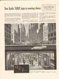 american car foundry 1946 new york sro sign subway train vintage ad