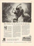 american wheelabrator equipment co 1946 metal cleaning vintage ad