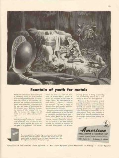 american wheelabrator equipment co 1946 fountain of youth vintage ad