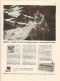 american wheelabrator equipment co 1946 cleaning power vintage ad