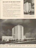 austin company 1947 rayweb corp new idea textile plant vintage ad
