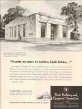 bank building equipment co 1947 state savings council bluff vintage ad