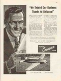 bellanca aircraft corp 1947 tripled our business cruisair vintage ad