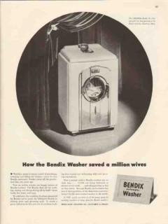 bendix home appliances inc 1947 washer saved million wives vintage ad