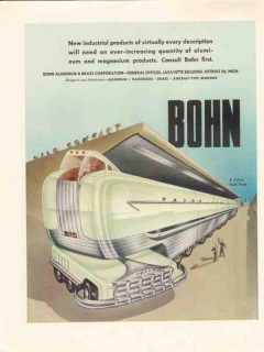 bohn aluminum brass corp 1947 new product future tank truck vintage ad