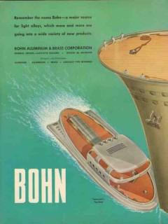 bohn aluminum brass corp 1947 light alloy future tug boat vintage ad