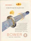 bower roller bearing company 1947 release full energy power vintage ad