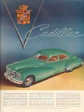 cadillac 1947 there can be little doubt people motor car vintage ad