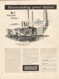 combustion engineering 1947 waterside con ed power station vintage ad