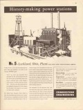 combustion engineering 1947 lockland oh carey power plant vintage ad
