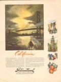 international minerals chemical co 1947 california msg vintage ad