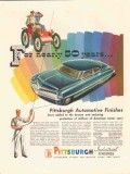 pittsburgh plate glass company 1947 automotive finish paint vintage ad