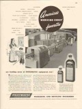 pneumatic scale corp 1947 miles laboratories elkhart in vintage ad