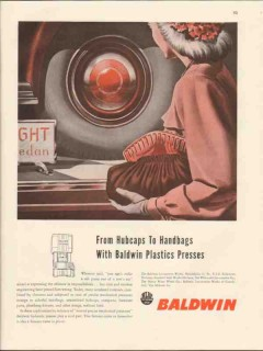 baldwin locomotive works 1947 hubcaps to handbags plastics vintage ad