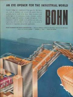 bohn aluminum brass corp 1947 eye opener industrial world vintage ad