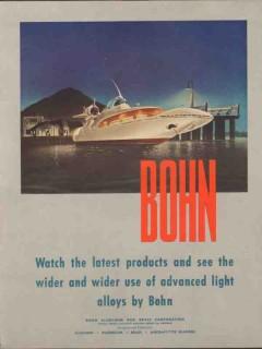 bohn aluminum brass corp 1947 wider advanced light alloys vintage ad