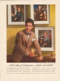 calvert distillers corp 1947 valentino sarra photographer vintage ad