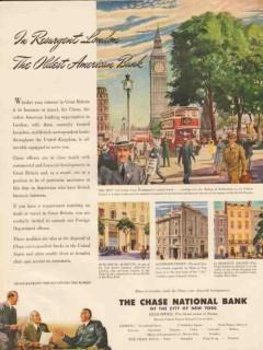 chase national bank 1947 resurgent london oldest american vintage ad