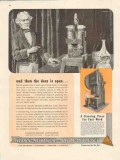 clearing machine corp 1947 michael faraday the door is open vintage ad