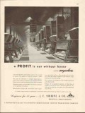 j e sirrine company 1947 profit not without honor engineers vintage ad