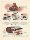 l and h stern inc 1947 lhs sterncrest put them all together vintage ad