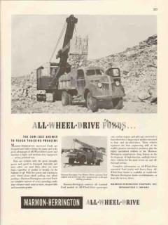 marmon-herrington 1947 all-wheel-drive converted ford truck vintage ad
