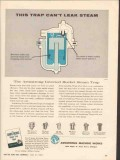 Armstrong Machine Works 1962 Vintage Ad This Trap Cant Leak Steam