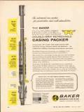 Baker Oil Tools Inc 1962 Vintage Ad Casing Packer Model R Double Grip